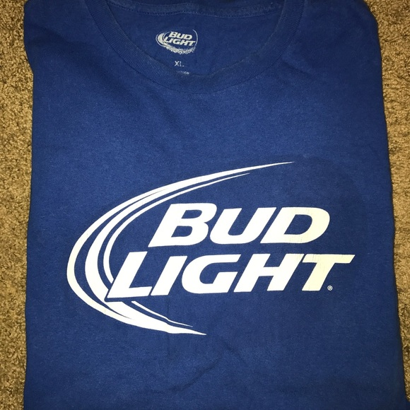 Shirts Bud Light Logo Tshirt Poshmark